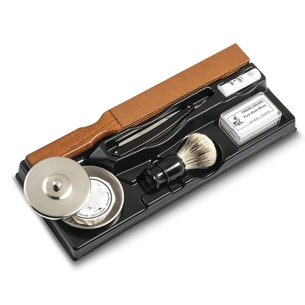 Kit Complet Rasoir coupe choux corne noire