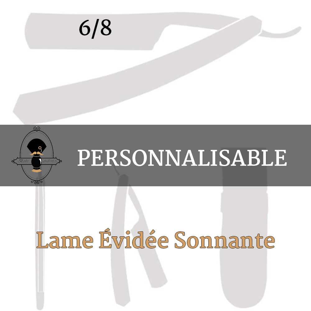 Rasoir Coupe Choux Personnalisable - Evidé sonnant 6.8